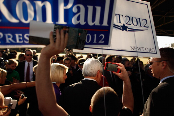 Eddie House「Gingrich Campaigns On Florida's Primary Day」:写真・画像(2)[壁紙.com]