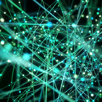 Internet「Network wires, conceptual artwork」:スマホ壁紙(6)