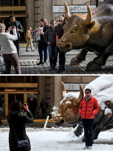 Drew Angerer「From Balmy To Snow Storm: Extreme 48-Hour Weather Swing In New York City」:写真・画像(11)[壁紙.com]