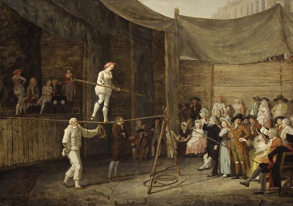 Balance「The Rope Dance. Creator: Léonard Defrance.」:写真・画像(0)[壁紙.com]