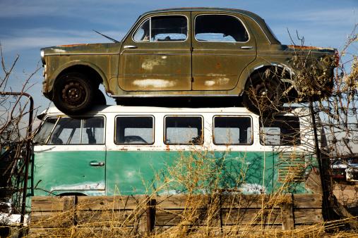 Hot Rod Car「Junkyard」:スマホ壁紙(7)