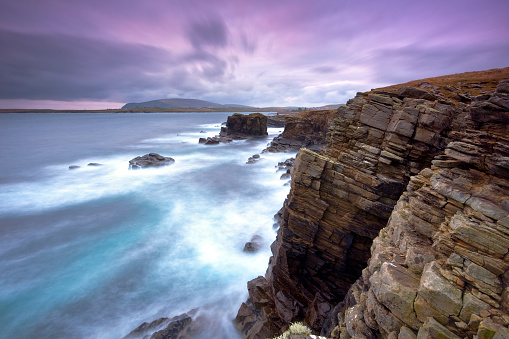 Stratus「Sumburgh on the Shetlands past sunset」:スマホ壁紙(9)