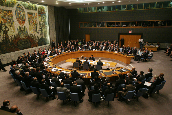 Meeting「Gathering Of World Leaders At U.N. General Assembly Continues」:写真・画像(13)[壁紙.com]