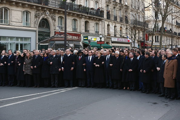 2015 Republican Marches「Mass Unity Rally Held In Paris Following Recent Terrorist Attacks」:写真・画像(3)[壁紙.com]