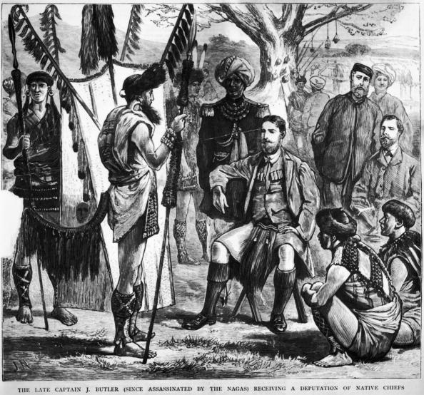 1870-1879「Butler Receives Chiefs」:写真・画像(1)[壁紙.com]