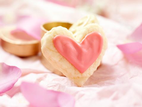 バレンタイン「ハート型ヴァレンティーヌクッキー」:スマホ壁紙(18)