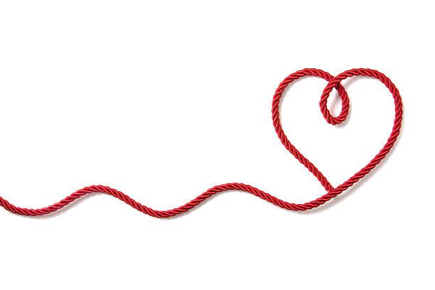 ハート型のロープ:スマホ壁紙(壁紙.com)