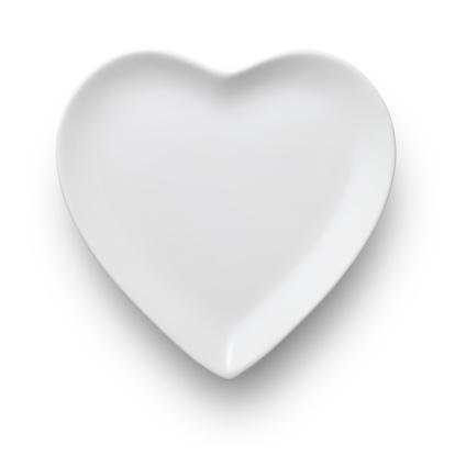 Love「ハート型のお料理」:スマホ壁紙(17)