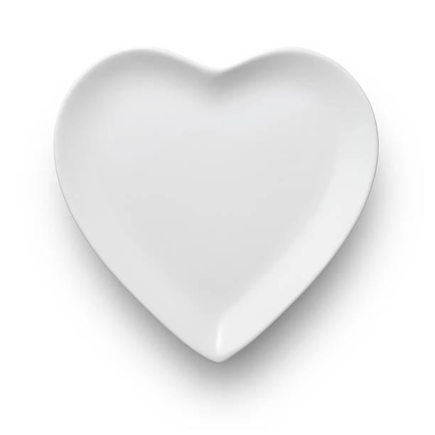 ハート型のお料理:スマホ壁紙(壁紙.com)