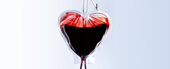 Healing「Heart shaped blood bag close up」:スマホ壁紙(10)