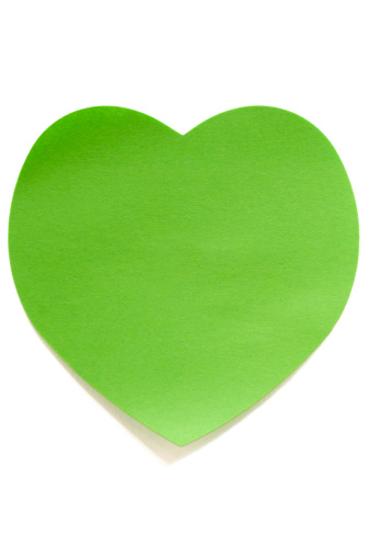 Adhesive Note「Heart shape Post-it Note」:スマホ壁紙(10)