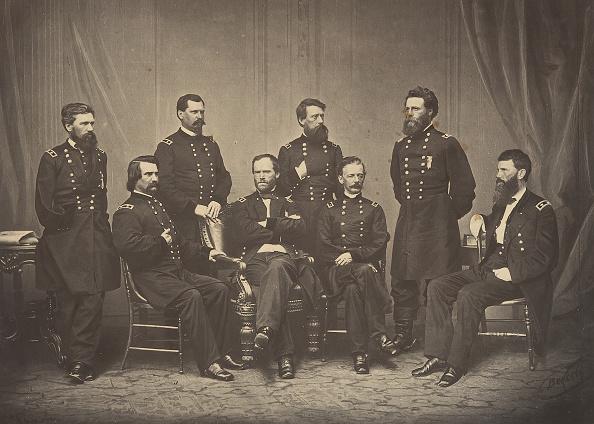1860-1869「Sherman And His Generals」:写真・画像(19)[壁紙.com]