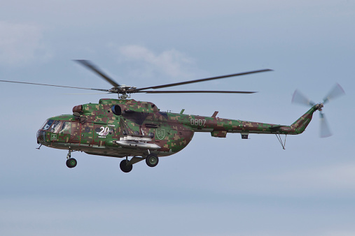 ミリタリー「Slovakian Mi-17 with digital camouflage.」:スマホ壁紙(14)