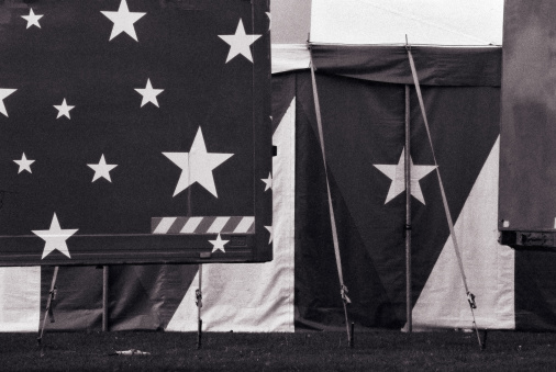 Circus Tent「Abstract with stars and stripes - American background motif」:スマホ壁紙(18)