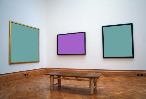 Frame - Border「gallery bench」:スマホ壁紙(7)