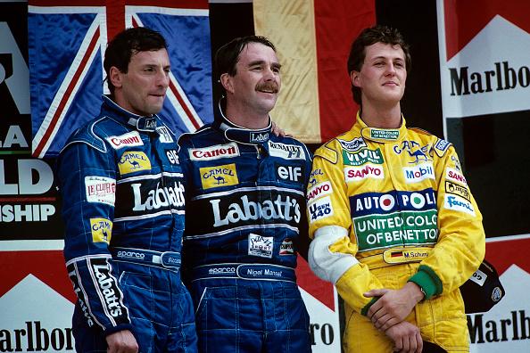 Mexico「Ricardo Patrese, Nigel Mansell, Michael Schumacher, Grand Prix Of Mexico」:写真・画像(2)[壁紙.com]
