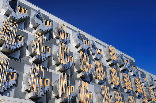 Postmodern「Scottish Parliamentary Building」:スマホ壁紙(9)