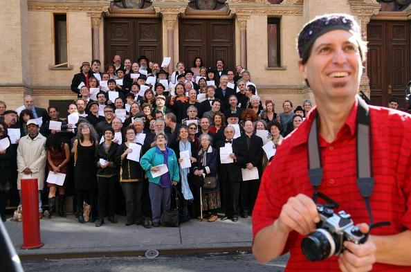 Klezmer「Traditional Jewish Klezmer Musicians Visit New York Synagogue」:写真・画像(8)[壁紙.com]