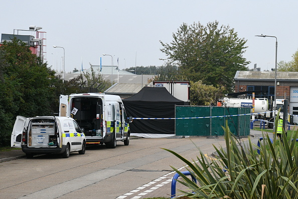 Semi-Truck「39 Bodies Discovered In Lorry In Thurrock」:写真・画像(11)[壁紙.com]