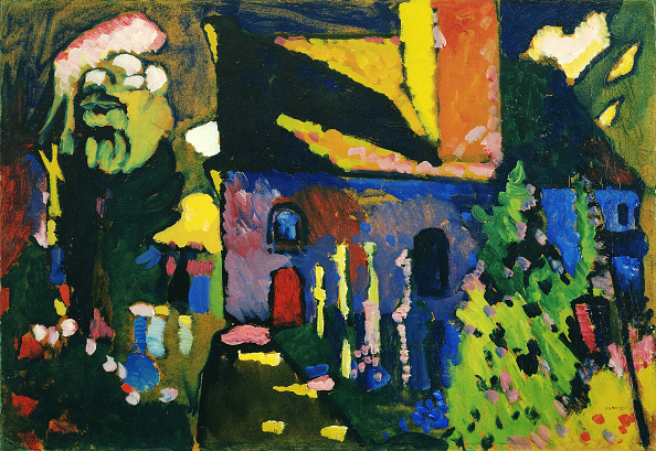 Oil Painting「Church At Murnau Artist: Kandinsky」:写真・画像(7)[壁紙.com]