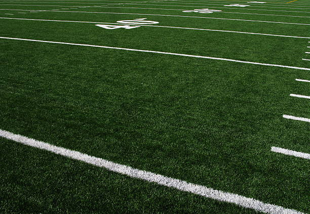 Football Field Forty Yardline Artificial Turf:スマホ壁紙(壁紙.com)