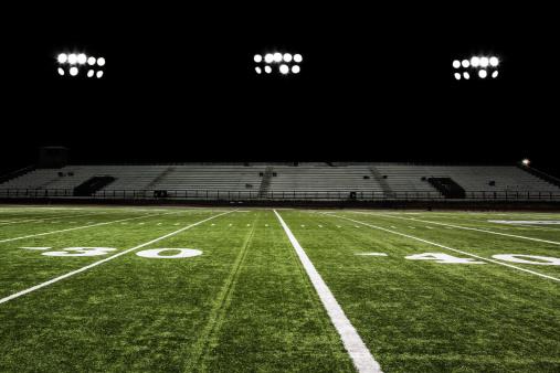 Stadium「Football Field at Night」:スマホ壁紙(13)