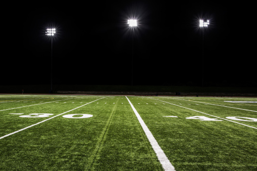 Turf「Football Field at Night」:スマホ壁紙(12)