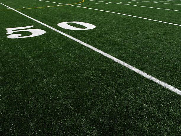 Football Field Artificial Turf 50 Yardline:スマホ壁紙(壁紙.com)