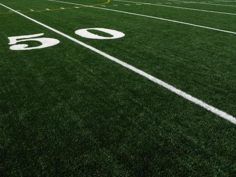 エクストリームスポーツ「フットボールフィールド人工ターフ 50 Yardline」:スマホ壁紙(9)