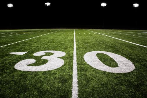 Floodlit「A football field with green grass」:スマホ壁紙(18)
