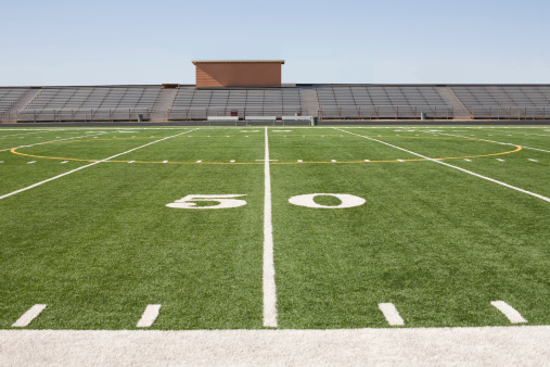 Number「Football field and stadium」:スマホ壁紙(5)