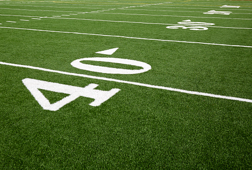 スポーツ「Football field marking of 40 yard line」:スマホ壁紙(7)
