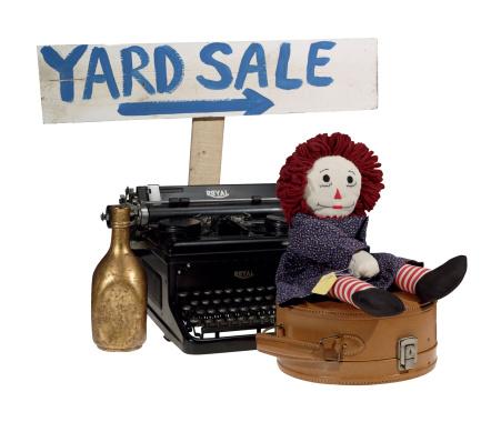 Doll「Yard sale objects」:スマホ壁紙(2)