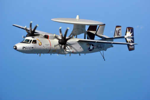 Propeller「An E-2C Hawkeye in flight over the Arabian Sea.」:スマホ壁紙(18)