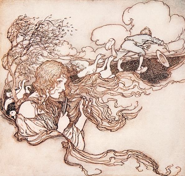 1909「The Goosegirl」:写真・画像(7)[壁紙.com]