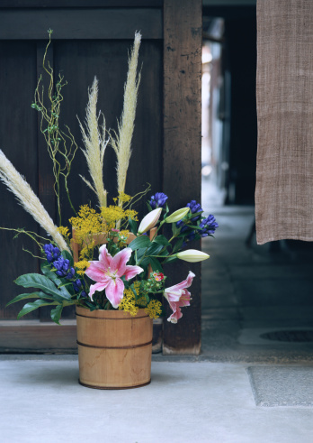 Japanese pampas grass「Flower Arrangement」:スマホ壁紙(15)
