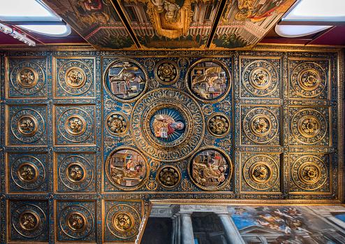 God「Ceiling, Gallerie dell'Accademia, Venice, Italy」:スマホ壁紙(14)