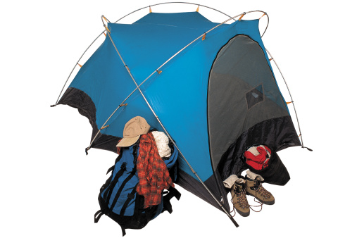Tent「Tent and camping gear」:スマホ壁紙(2)