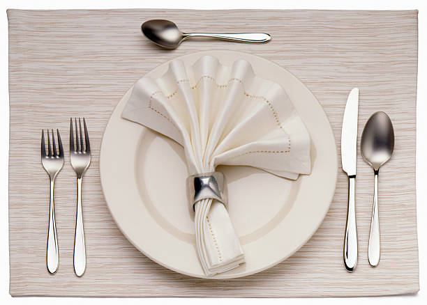Empty Dinner Plate, Knife, and Fork:スマホ壁紙(壁紙.com)