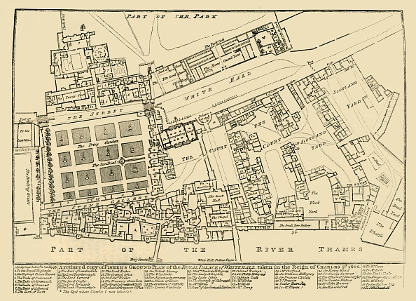 17th Century「A Reduced Copy Of Fishers Ground Plan Of The Royal Palace Of Whitehall」:写真・画像(15)[壁紙.com]
