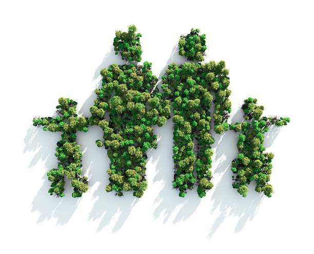 Green Family:スマホ壁紙(壁紙.com)