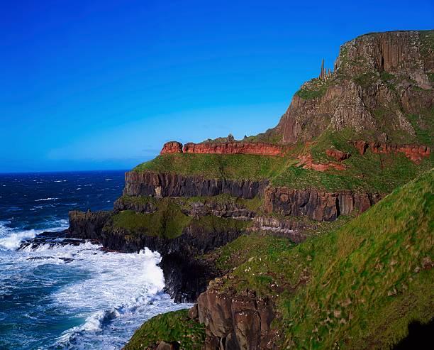 Rock formation, The Giant's Causeway, Co Antrim, Ireland:スマホ壁紙(壁紙.com)
