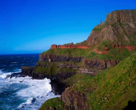 Basalt「Rock formation, The Giant's Causeway, Co Antrim, Ireland」:スマホ壁紙(1)