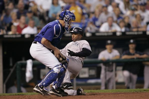 Sports Venue「New York Yankees vs Kansas City Royals - May 31, 2005」:写真・画像(18)[壁紙.com]