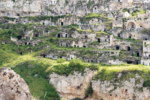 Cliff Dwelling「Italy, Basilicata, Matera, Gravina di Matera and historical cave dwelling, Sassi di Matera」:スマホ壁紙(7)