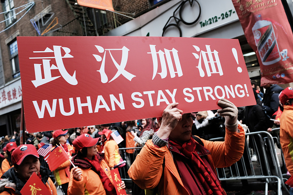 中国文化「New York's Annual Lunar New Year Day Parade Winds Through Chinatown」:写真・画像(9)[壁紙.com]