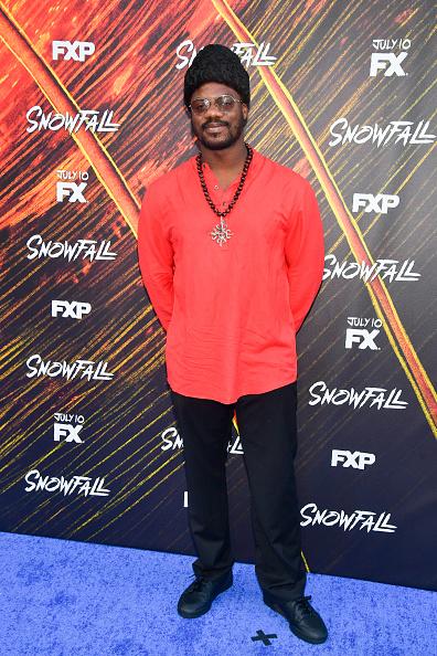 "Shirt「Premiere Of FX's ""Snowfall"" Season 3 - Arrivals」:写真・画像(4)[壁紙.com]"