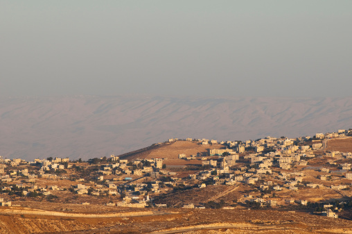 Bethlehem - West Bank「View of Palestinian landscape and homes from Bethlehem, Palestine」:スマホ壁紙(0)
