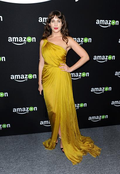 Yellow Dress「Amazon Studios Golden Globes Party - Arrivals」:写真・画像(1)[壁紙.com]