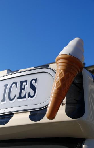 Food Truck「Ice cream van sign」:スマホ壁紙(8)
